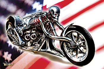 Motorcycle Artwork, Cycle Drawings, Biker Comics, Motorcycle Cartoons, Sculptures, Motorcycle Posters, Miniatures, Wire Figurines, Advertising, Signs, & History
